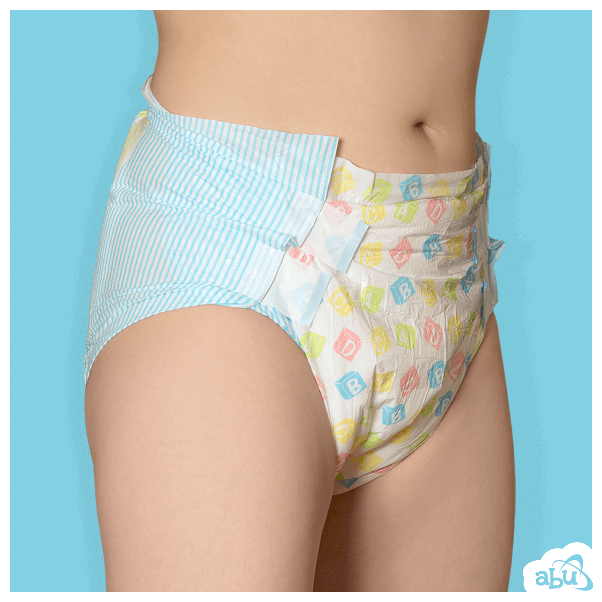 These diapers are available with the convenience of pull-ups or with  traditional tabs. The product is available in sizes that will fit most  peoples body ...