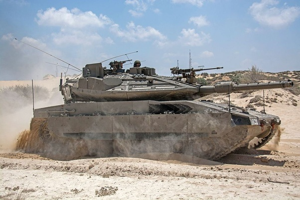 Which is the largest military-tracked vehicle in normal production