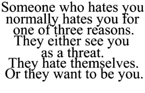 Quotes For Someone You Hate: What Are Some Quotes About Someone Hating You?