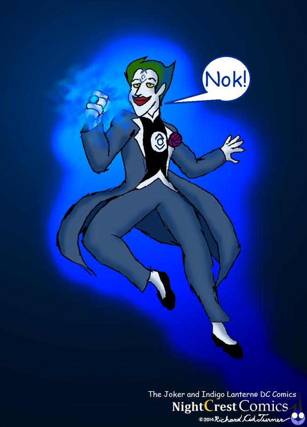 What Would Happen If The Joker Got An Indigo Lantern Ring Quora