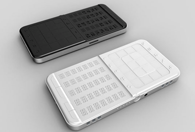 sumit blinds phone dagar by people indian braille touchscreen developed blind student for phones