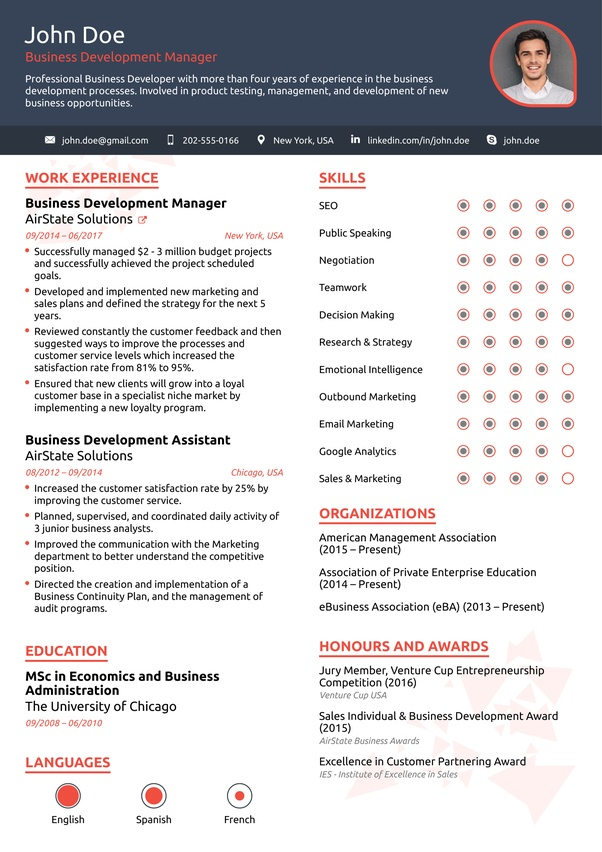 What are the best formats for a resume? - Quora
