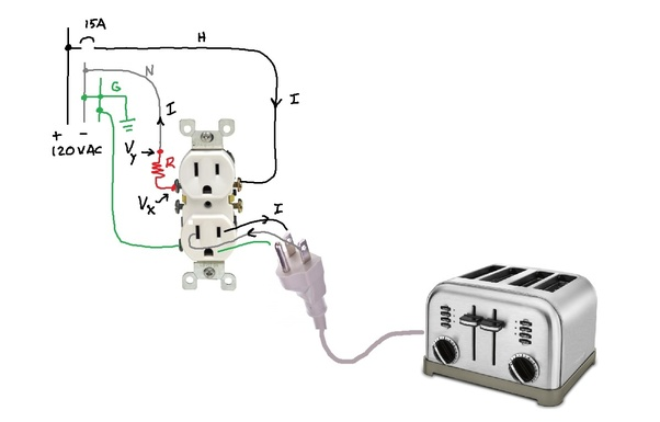 If a neutral connection is loose, then is it possible to ... Wiring Are Connected on