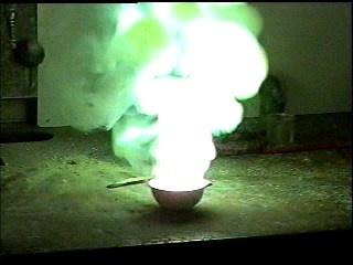 What happens when zinc powder is used on zinc granules? - Quora