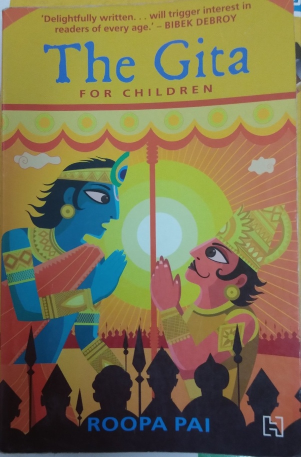 Which is the best and the simplest book on 'Bhagavad Gita' in