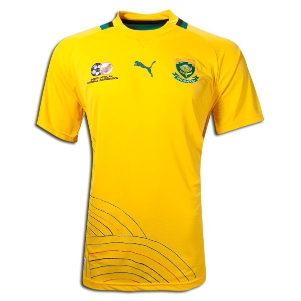 Nike South Africa 2018 Home Stadium Jersey   WeGotSoccer  South Africa Soccer Jersey