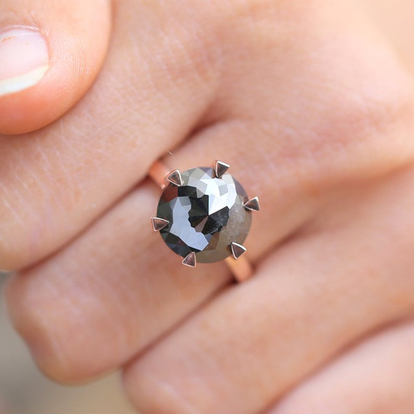 What Do You Think Of Black Diamond Engagement Rings Quora