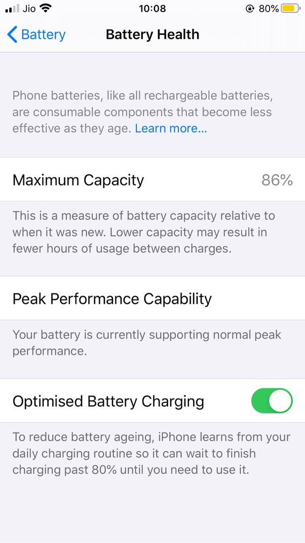Is It A Problem If My Iphone 11 Pro Max U2019s Battery Capacity