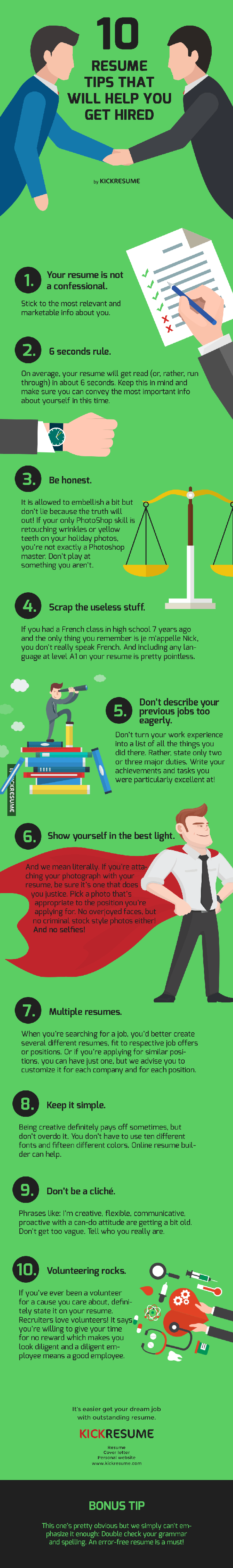 how to build a strong resume