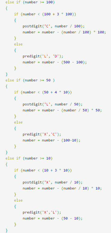 Write A Program To Find The Roman Numeral Equivalent Of A Number