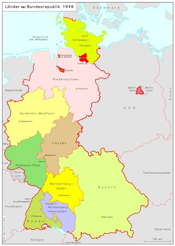 why did germany merge some of its states like baden wurttemberg quora