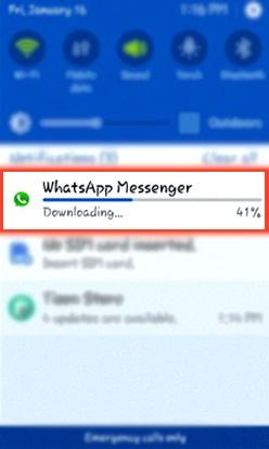 download whatsapp samsung z4