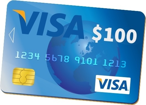 the same way you use a regular visa gift card go into the store and scan your items and swipe it at the checkout choose credit and sign your name or sign - Visa Gift Card