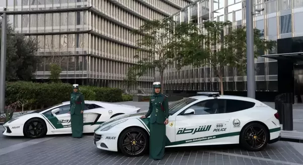 ... Itu0027s Getting, Itu0027s Cheap! It Emphasizes Dubaiu0027s Image Of Luxury And  Wealth, But Also As A Modern Gulf Country: Only Policewomen Are Driving  These Cars.