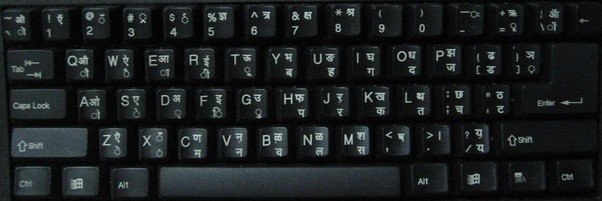 How to write half letters on the Hindi keyboard Quora