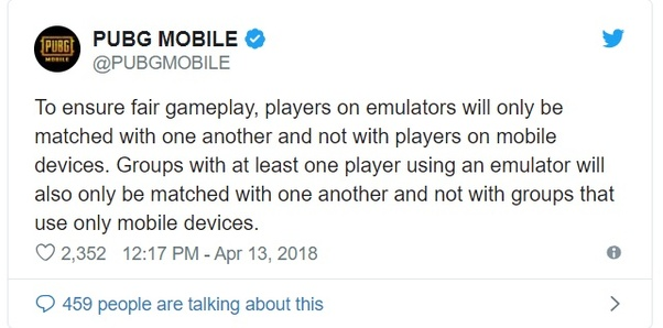 Are emulators allowed in the crew challenge in PUBG Mobile? - Quora