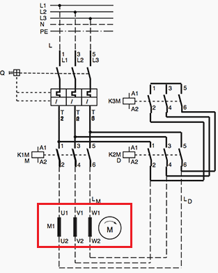How to connect a delta-wye motor - Quora | Wye Delta Wiring Diagram |  | Quora