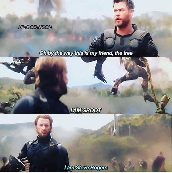 What is the funniest thing said in Infinity War? - Quora