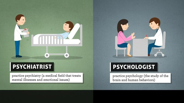 Difference Between A Psychiatrist And A Psychologist