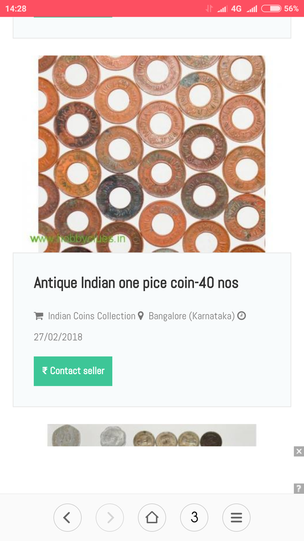Where can I sell old indian coins at higher value? - Quora