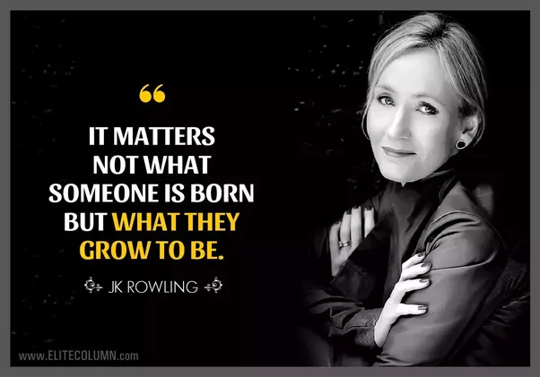 What are some quotes from J.K. Rowling?  Quora