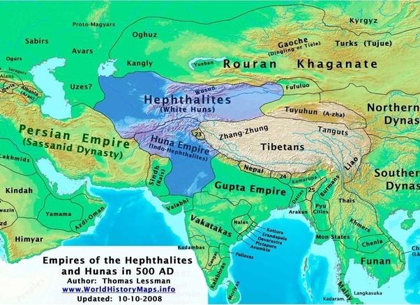 Kushan Map