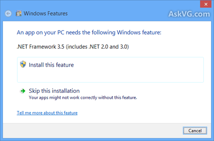 How to install microsoft. Net framework 3. 5. 1 on windows 7.