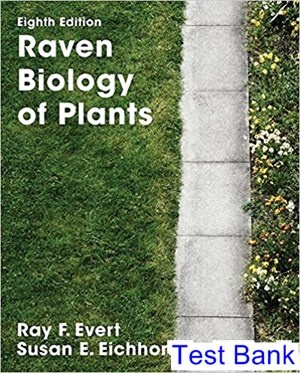 Biology of plants 8, peter h. Raven, ray f. Evert, susan e.