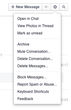 how to get to message requests on fb messenger