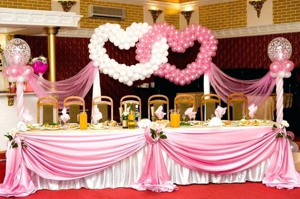 What Are Some Of The Balloon Decoration For Wedding Reception Quora
