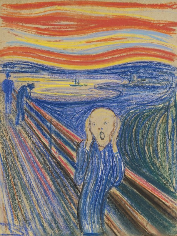 Now Have Look At This Piece Of Art. This Is U0027The Screamu0027 By Edvard Munch.  What Does It Say? This Was A Transition From The Meticulously Done Art Of  Realism ...
