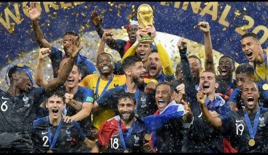 Photos of the world cup winner football 2020