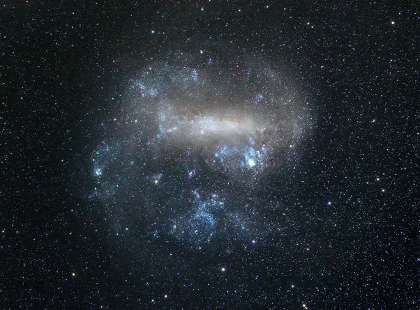 This ground-based image of the Large Magellanic Cloud was