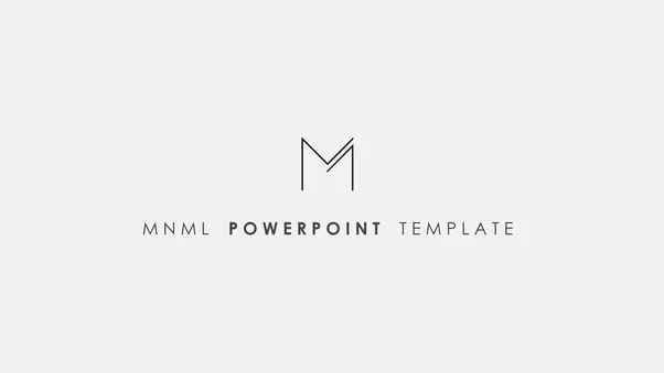 Where can i find free powerpoint templates quora with mnml you have everything you need for a powerfull and convincing presentation this powerpoint template is charged with tons of toneelgroepblik Gallery
