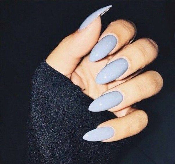 Nail Shapes That Not Everyone Is Trained Or Knows How To Do These Can Include Almond Nails Sort Of Like Oval But Slightly Pointed At The Tip