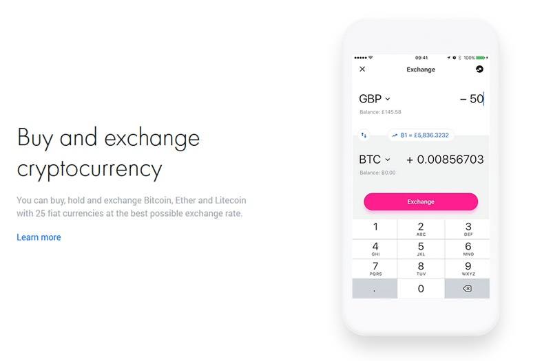 revolut cryptocurrency exchange rate