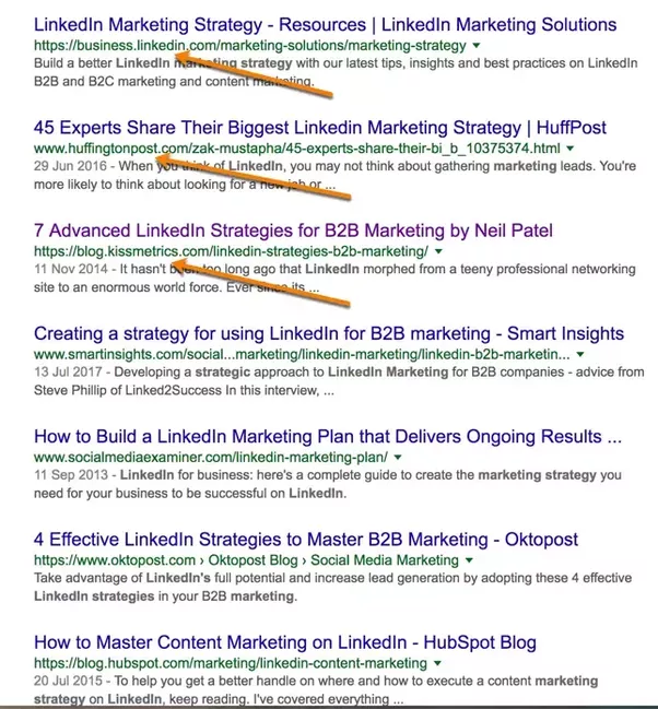 What are good marketing strategies for a small business quora take a look a the term linkedin marketing strategy fandeluxe Choice Image