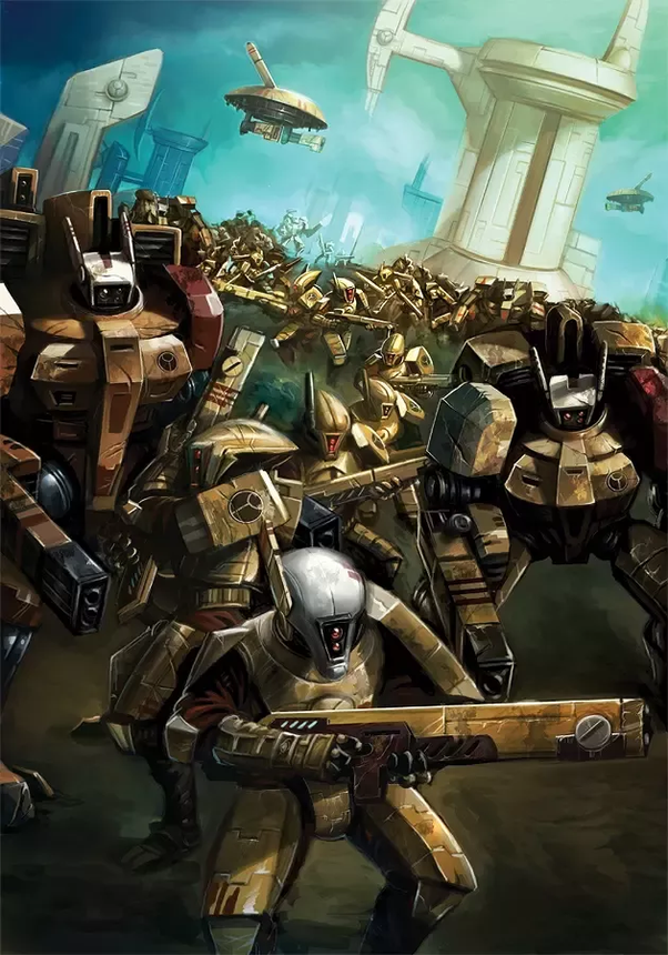 What are some interesting facts about the Warhammer 40K