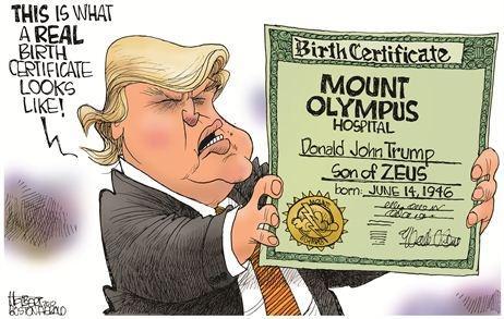 When will Donald Trump release his birth certificate and college ...