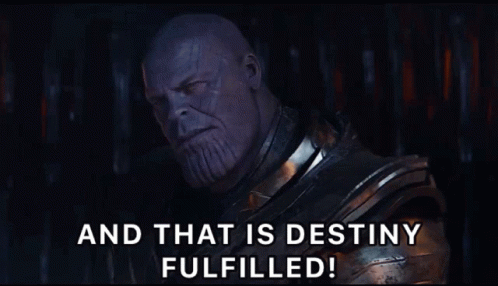Did Thanos save himself from being dusted or was he ...