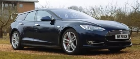 Qwest A Custom Coach Builder Has Tooled Up Station Wagon Modification For Tesla Model S
