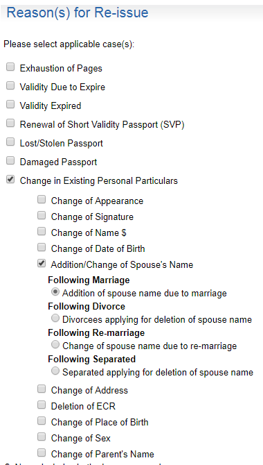Which Document Is Needed To Add The Spouse Name In My Daughters