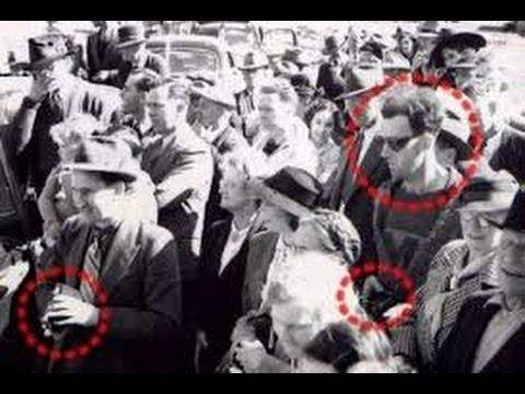 Real life time traveler caught