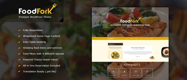 What is the best wordpress theme for food recipes quora check out once foodfork best restaurant wordpress theme forumfinder Image collections