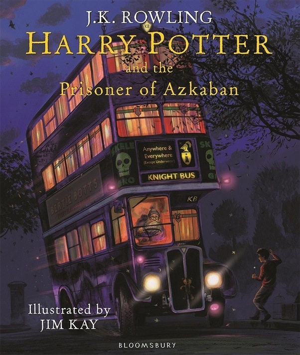 This Is The Cover Of Third Illustrated Harry Potter Book It Comes Out October 3 I Find Interesting How Each Illustrates Harrys Return From