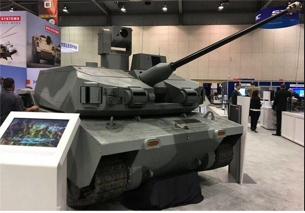 Are there any drone tank or UGV yet? If so are the deployed