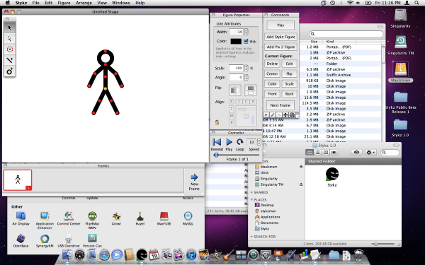 Free animation software.