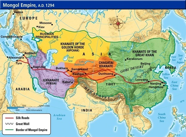 How did great empires eg the Mongols Empire manage to control