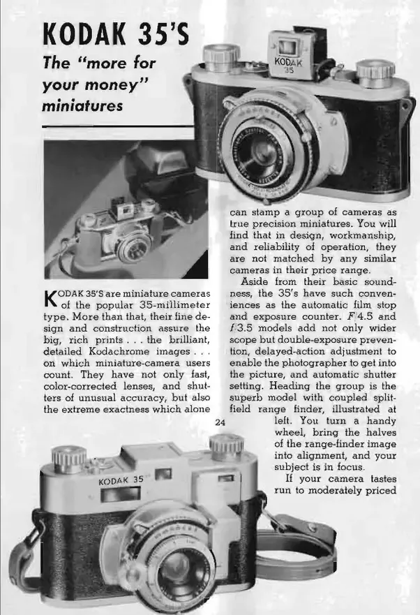 What Were Cameras Like In The 1940s Quora
