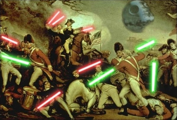 5 years later occurred the Battles of Lexington and Concord, the first  battle of the Revolutionary War, and 13 years later Britain lost the  Revolution.